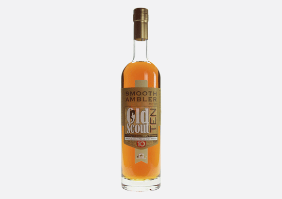Old Scout Ten 10 Year Old Straight Bourbon