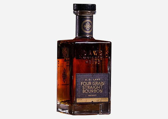 A.D. Laws Straight Bourbon Whiskey