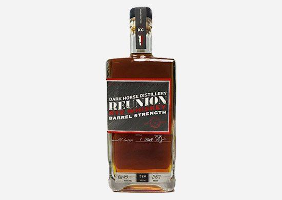 Dark Horse Distillery Barrel Strength Reunion Rye Whiskey