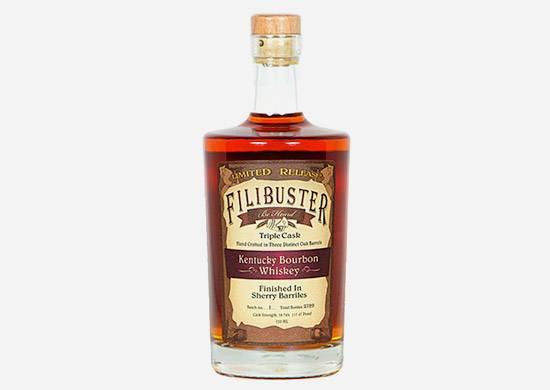 Filibuster Triple Cask Strength Kentucky Bourbon Whiskey