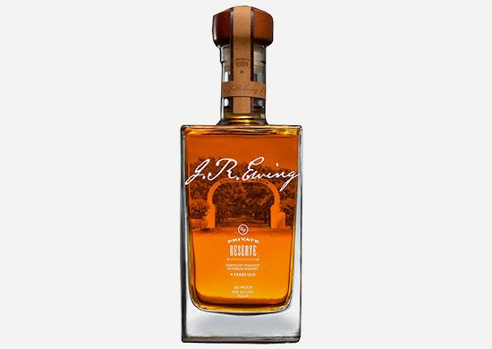 J. R. Ewing Private Reserve Straight Bourbon Whiskey