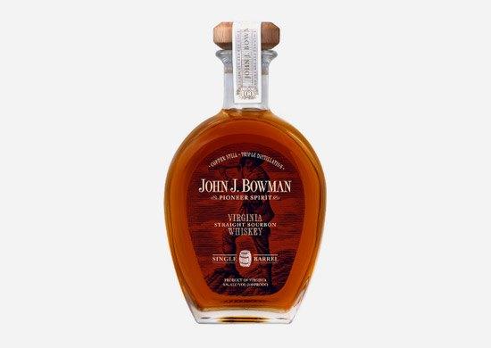 John J. Bowman Single Barrel Straight Bourbon Whiskey