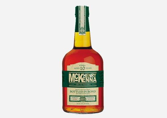 Henry McKenna Single Barrel 10 Year Old Kentucky Straight bourbon