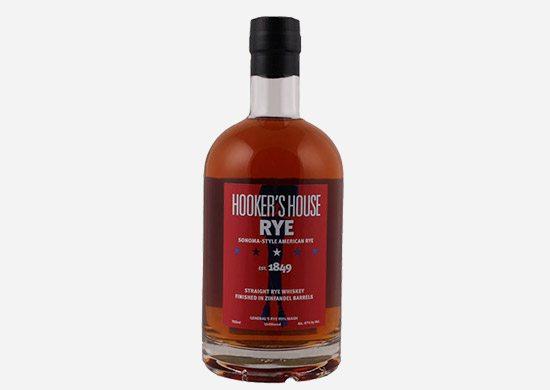 Hooker's House Sonoma-Style Rye Whiskey